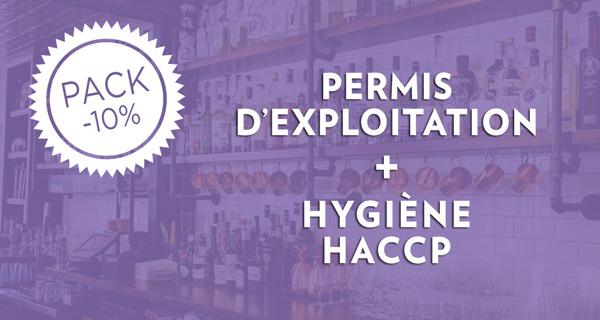 Pack permis d'exploitation + hygiene HACCP